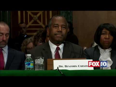 FNN: Ben Carson Confirmation Hearing, Trump Housing & Urban Development (HUD) Secretary