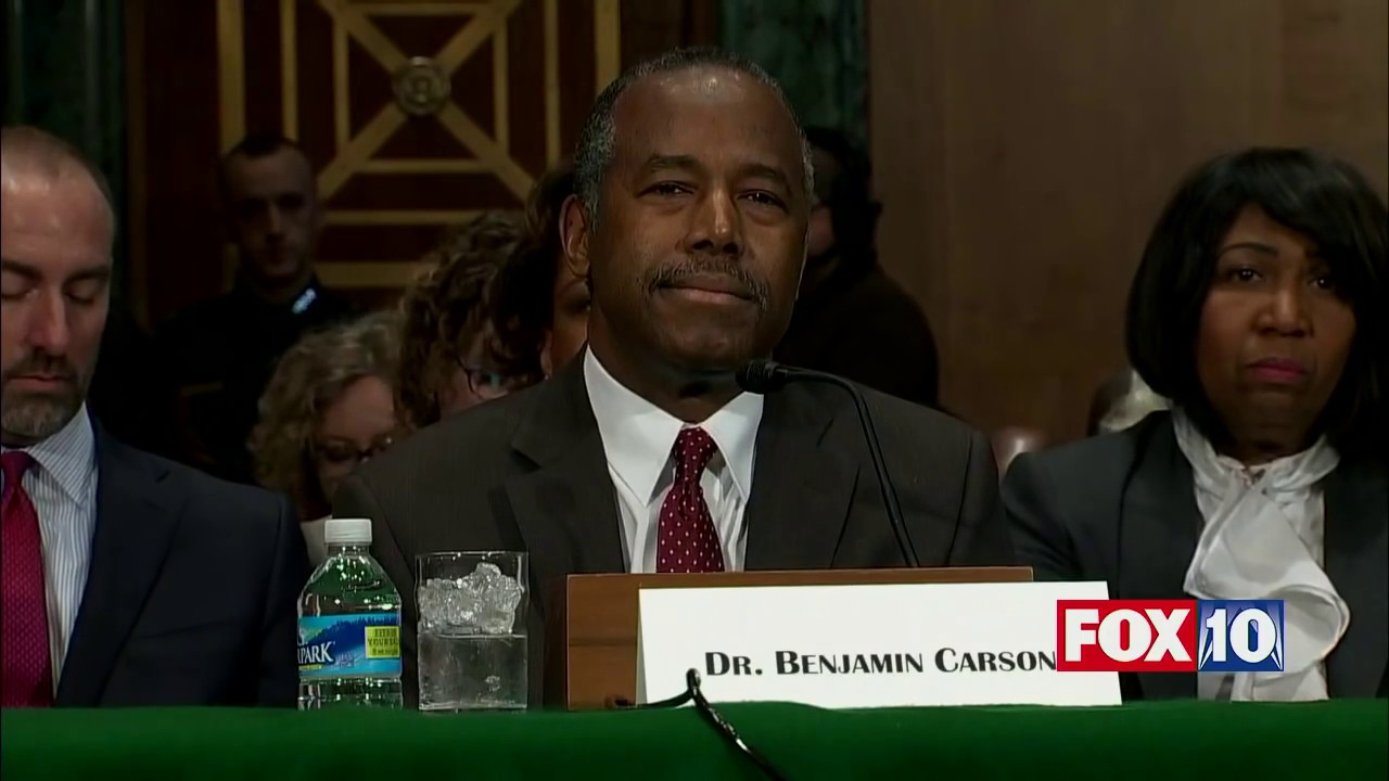 fnn: ben carson confirmation hearing, trump housing & urban