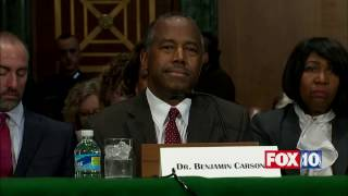 FNN: Ben Carson Confirmation Hearing, Trump Housing & Urban Development (HUD) Secretary thumbnail