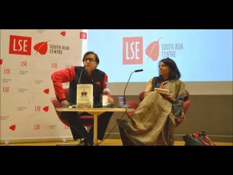 Dr. Tharoor @ South Asia Centre, London School of Economics