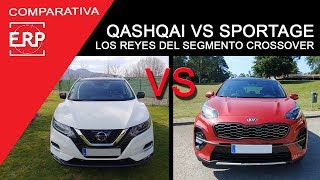 Nissan QASHQAI VS Kia SPORTAGE. COMPARATIVA / Test / Review