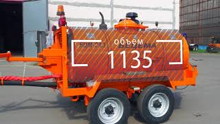 Оборудование для ямочного ремонта дорог - комплект БЦМ-24.3