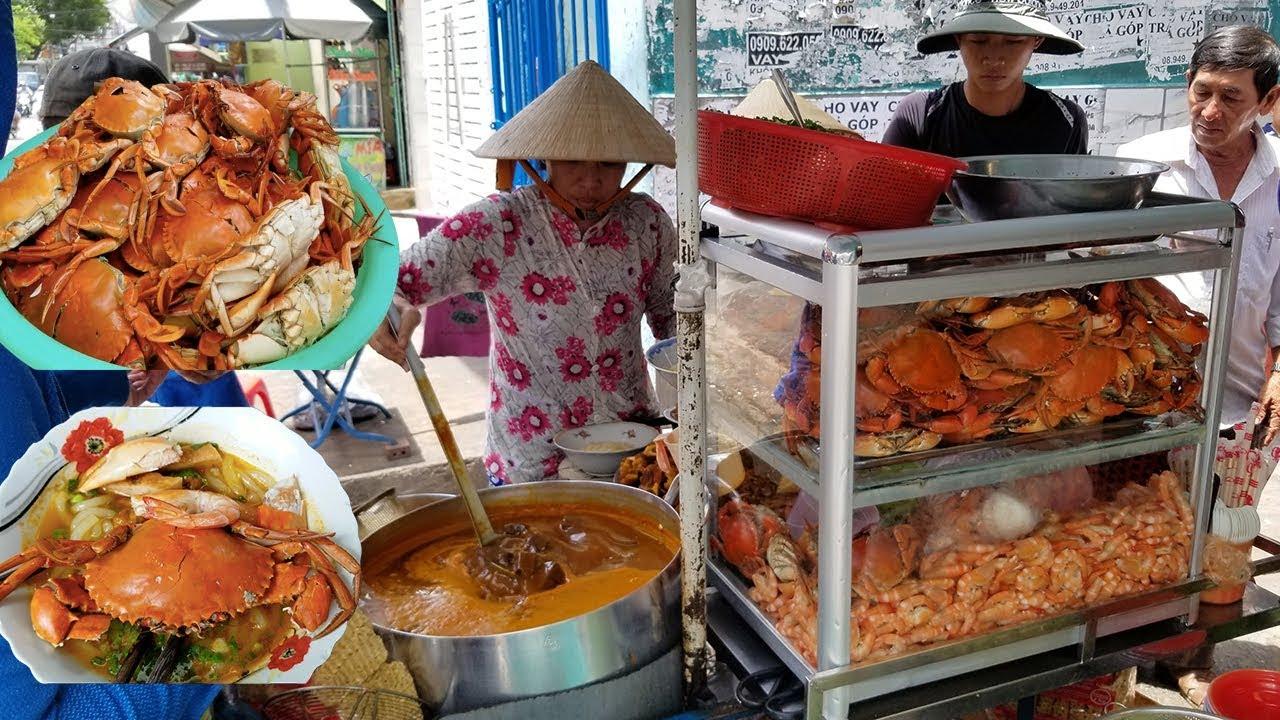 Tô bánh canh nguyên con cua ngon rẻ bậc nhất Sài Gòn