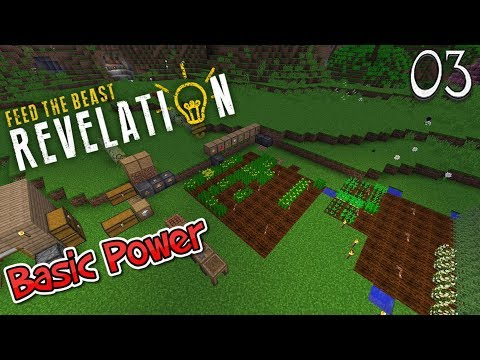 Lets Play Feed The Beast Revelation - Basic Power (3)