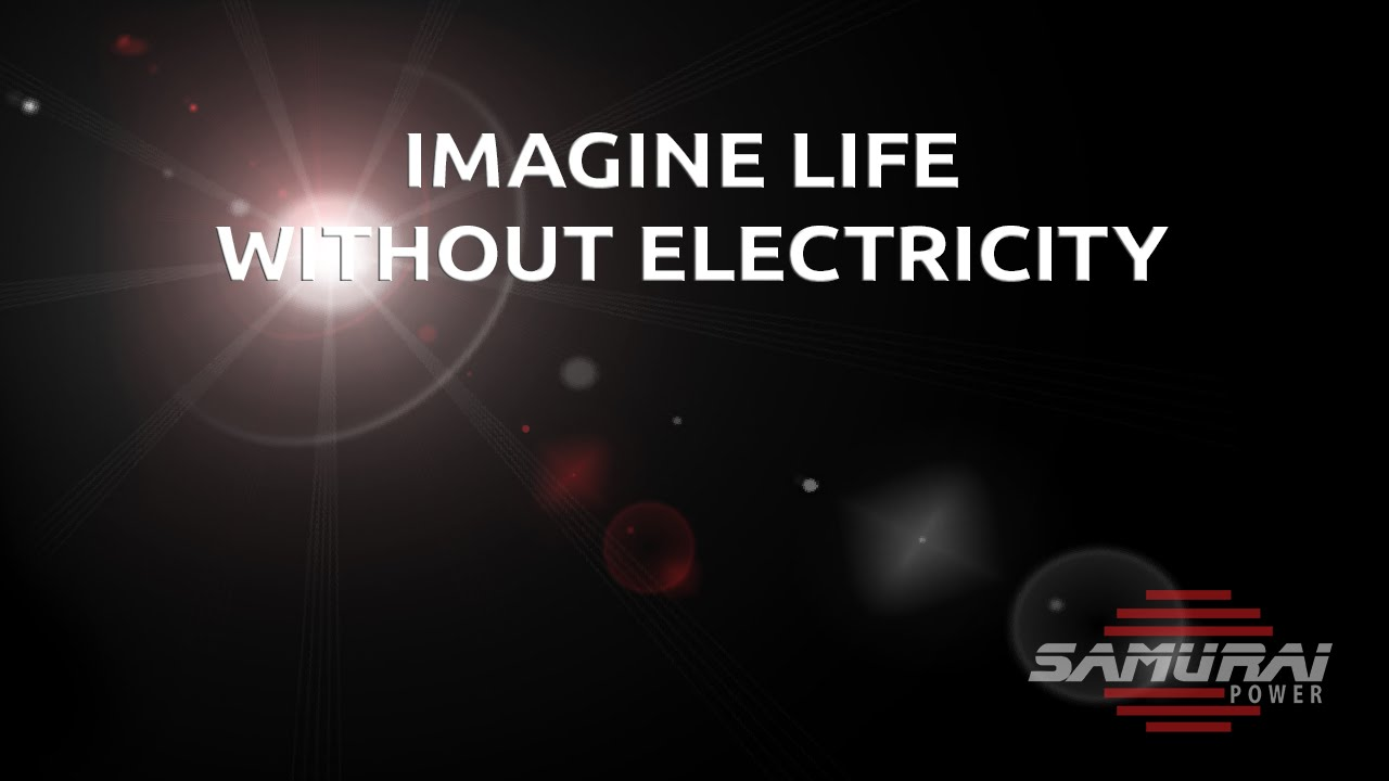 a life without electricity