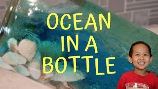 Preschool Science Experiment | Ocean In A Bottle / Jar