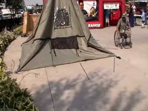 Outfitters tent set up. & Outfitters tent set up. - YouTube