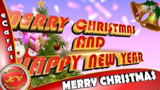 Merry Christmas and Happy New Year Wishes Whatsapp Status Download Greetings Animation