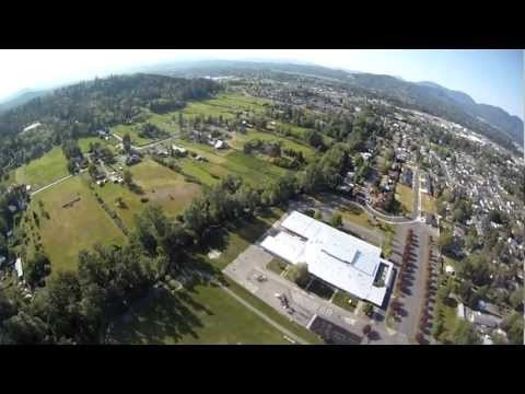 Allendale School Helicopter Flight