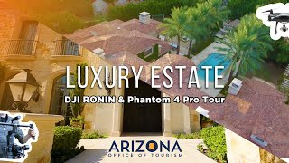 Flying Our DJI Phantom 4 Pro Over 10,000 sq ft. Arizona Estate