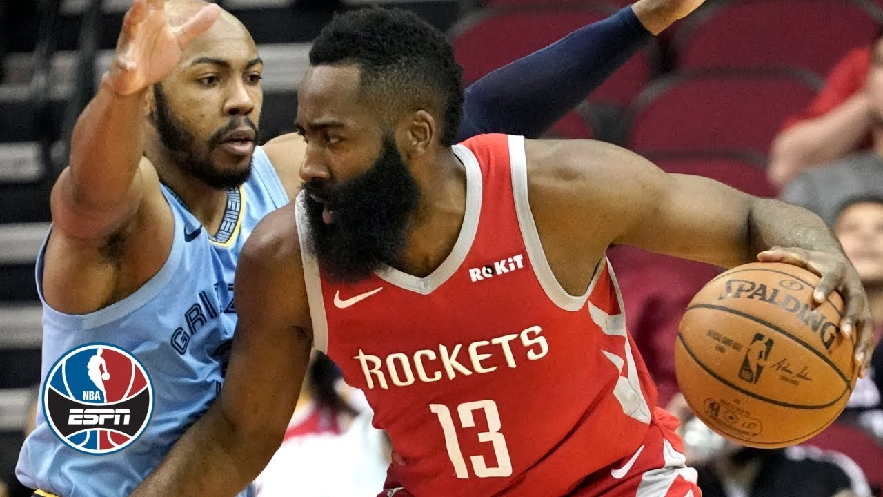 df64e433070f James Harden dominates Grizzlies with 57 points in Rockets victory ...