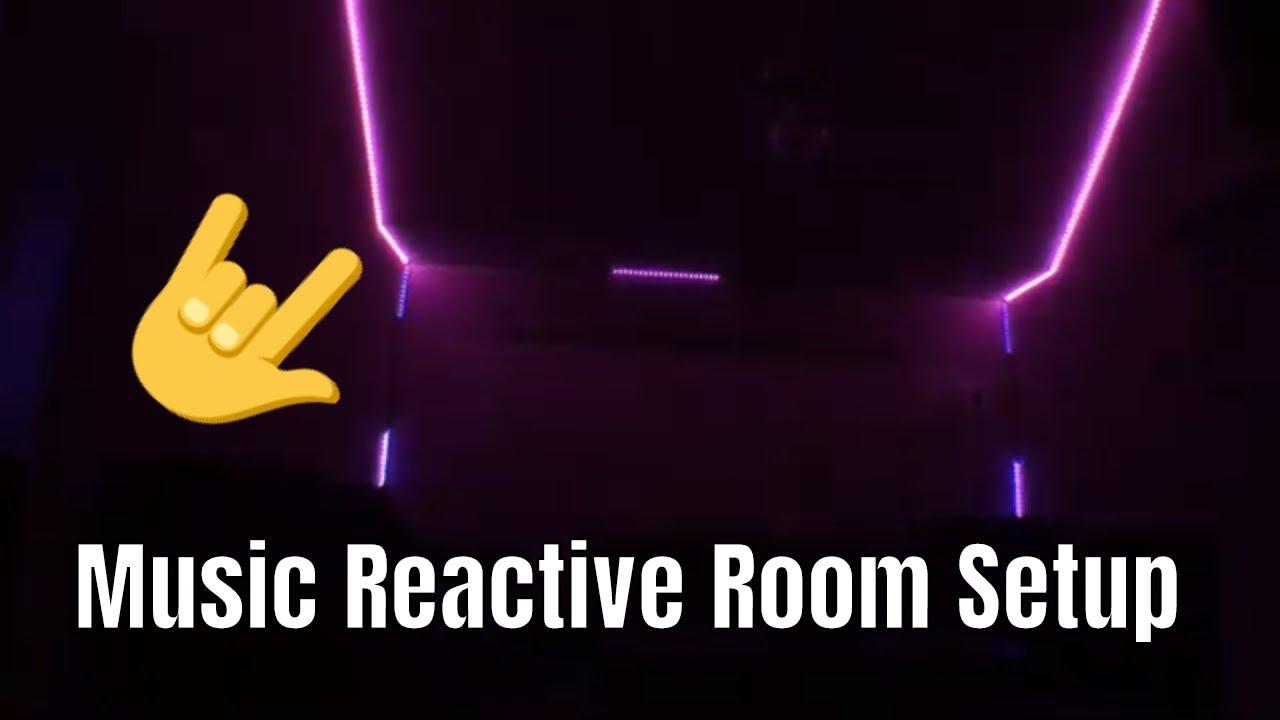 Music Reactive Room Setup - ViVi Music LED Controller