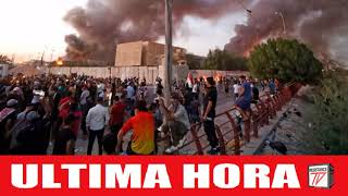 Todos los Edificios Gubernamentales quemados en Irak en menos de 48 horas
