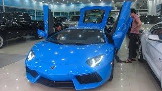 Lamborghini Aventador Le Mans Blue đầu tiên tại Việt Nam | XSX