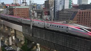 20180820 仙台駅南アパホテルからの新幹線