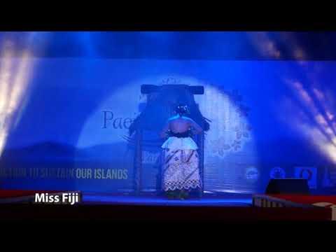 Miss Pacific Islands Pagent 2017 Talent Fiji