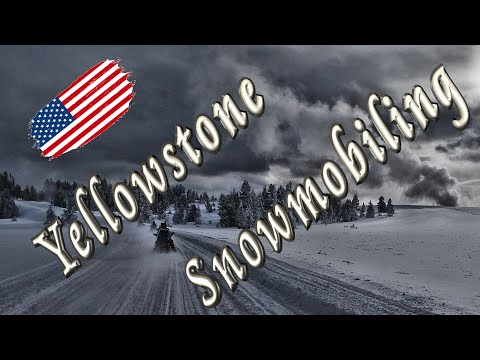 Snowmobiling Trip in Yellowstone NP