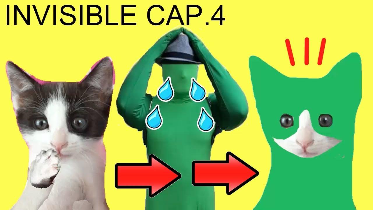 Mis gatos Luna y Estrella hacen bromas divertidas con slime a el hombre invisible / Capítulo 4