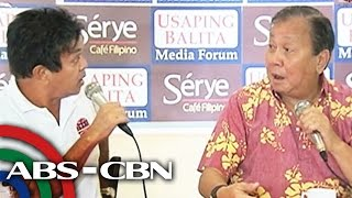 Atienza, Seneres nearly come to blows