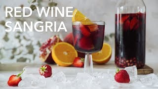 Red wine sangria [BA Recipes]