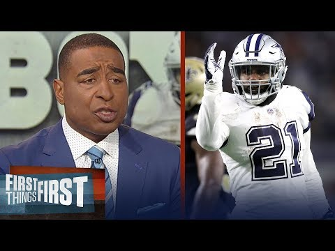 Cris Carter reacts the Cowboys upsetting the Saints on TNF | NFL | FIRST THINGS FIRST