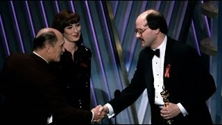 The Silence Of The Lambs Wins Adapted Screenplay: 1992 Oscars
