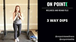 Improve Balance & Stability with 3-Way Dips