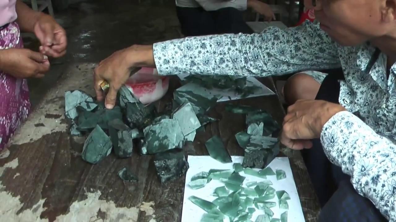 ตลาดหยกมัณฑะเลย์:โอกาสของนักแสวงโชค Mandalay Jade Market