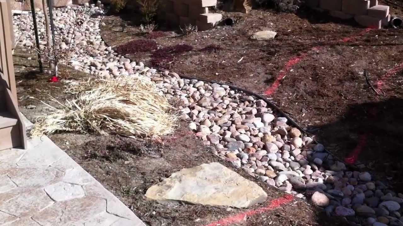 Installing Natural Stone Steps Denver Landscaping Part 1