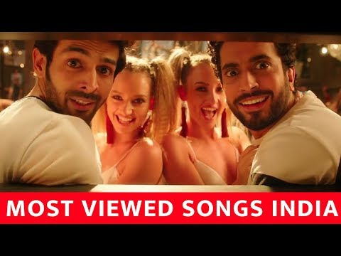 Top 25  Most Viewed Indian/Bollywood Songs on YouTube