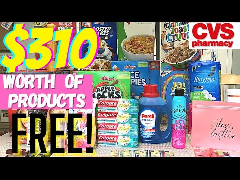 CVS COUPON HAUL (8/16 – 8/22) 🔥 Over $310 worth of Products for FREE! + Money Maker!
