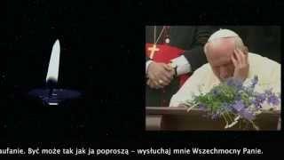 """Piosenki polskie - Święty Papież Jan Paweł II - Pieśń """"Wysłuchaj mnie"""" Chcę być z Tobą - Adam Wojdak"""