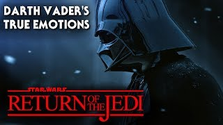 Darth Vader's True Emotions When Luke Confronted Him! Star Wars Analysis