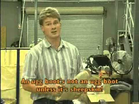 Old Ugg Boot TV Commercial for Mortels Sheepskin Factory