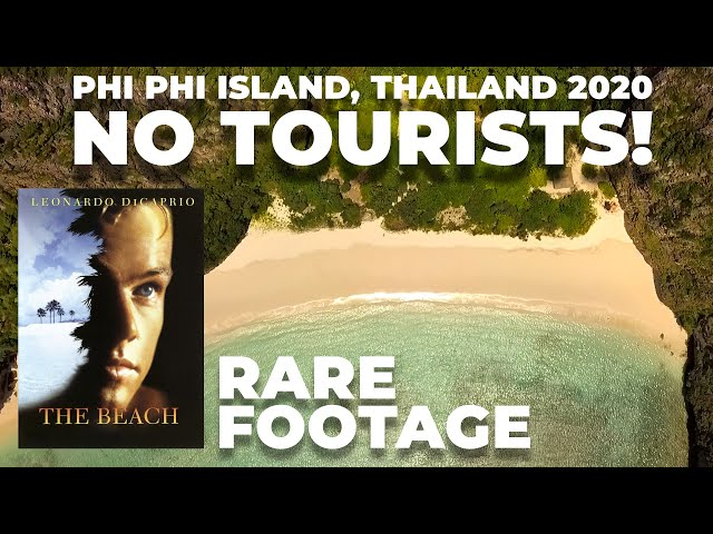ZERO tourists on the most beautiful beach in the world! - Phi Phi, Thailand 2020 | AKA Thailand