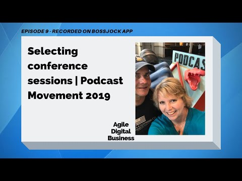 Podcast Movement 2019 | Recording a Conference Episode on Bossjock - Now Backpack Studio App