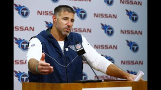 #Titans Coach Mike Vrabel's Postgame Press Conference