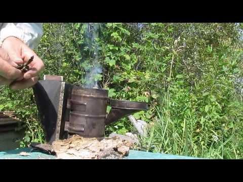Как быстро разжечь дымарь