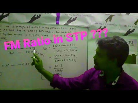 Food to Microorganism (FM) ratio in STP || FM calculation || Engineers View || ASHOKRAJ S ||Tamil |