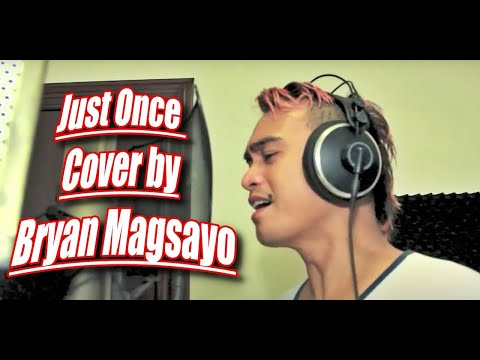 James Ingram - Just Once (Cover By Bryan Magsayo)