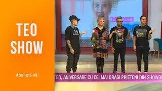 Teo Show 03.06.2019 - Alex Velea, Mario Fresh si Lino Golden, surpriza de ziua lui Teo!