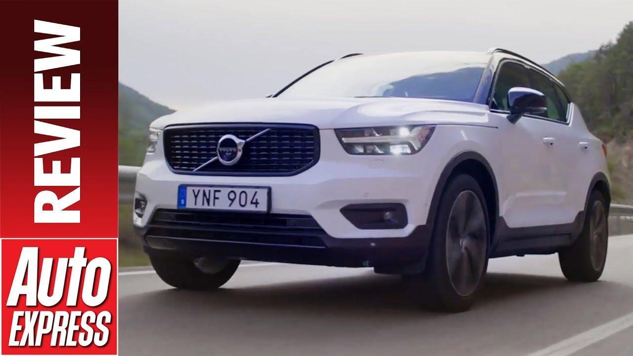 New Volvo XC40 review - Swedish SUV enters the fray - Dauer: 3 Minuten, 7 Sekunden