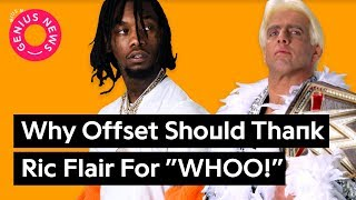 """Why Offset Should Thank Ric Flair For """"WHOO!"""" 