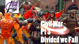 Captain America Civil War [Stop Motion Film] Pt3 The Final Battle