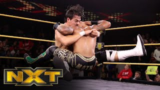 Lio Rush vs. Angel Garza – NXT Cruiserweight Championship Match: WWE NXT, Nov. 13, 2019