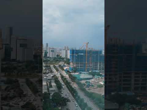 Hyperlapse FPT Building Construction - Hanoi, Vietnam | Gau Aka Radio