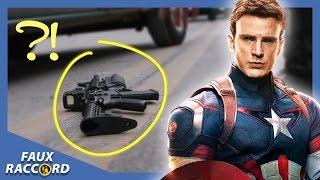 Faux Raccord - Les plus grosses gaffes de Captain America ! Allociné streaming
