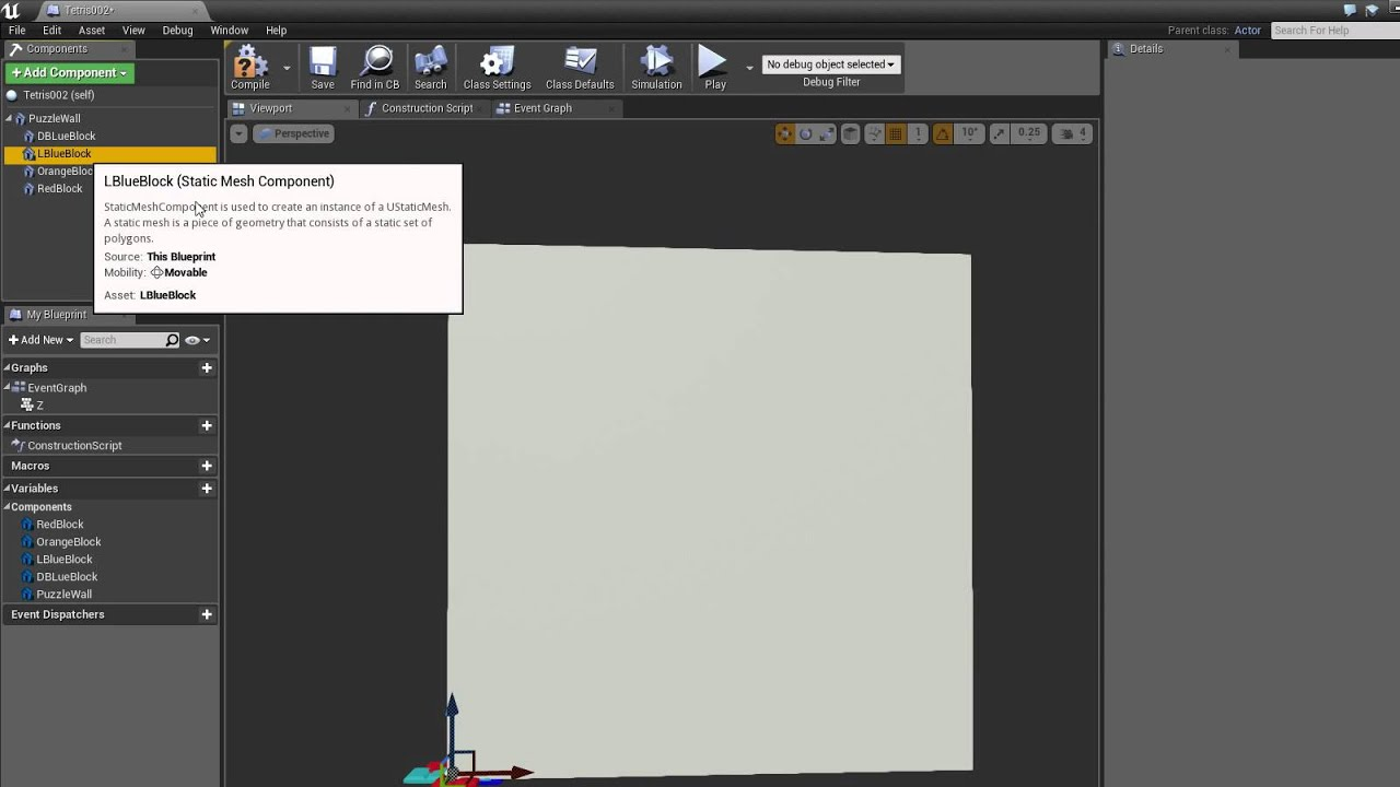 Ue4 blueprints tetris puzzle tutorial part 03 youtube ue4 blueprints tetris puzzle tutorial part 03 malvernweather Image collections