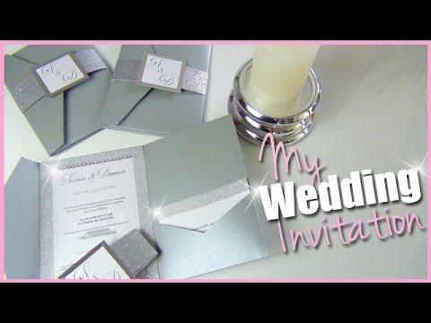 diy mes faire part de mariage pochette strass paillettes. Black Bedroom Furniture Sets. Home Design Ideas