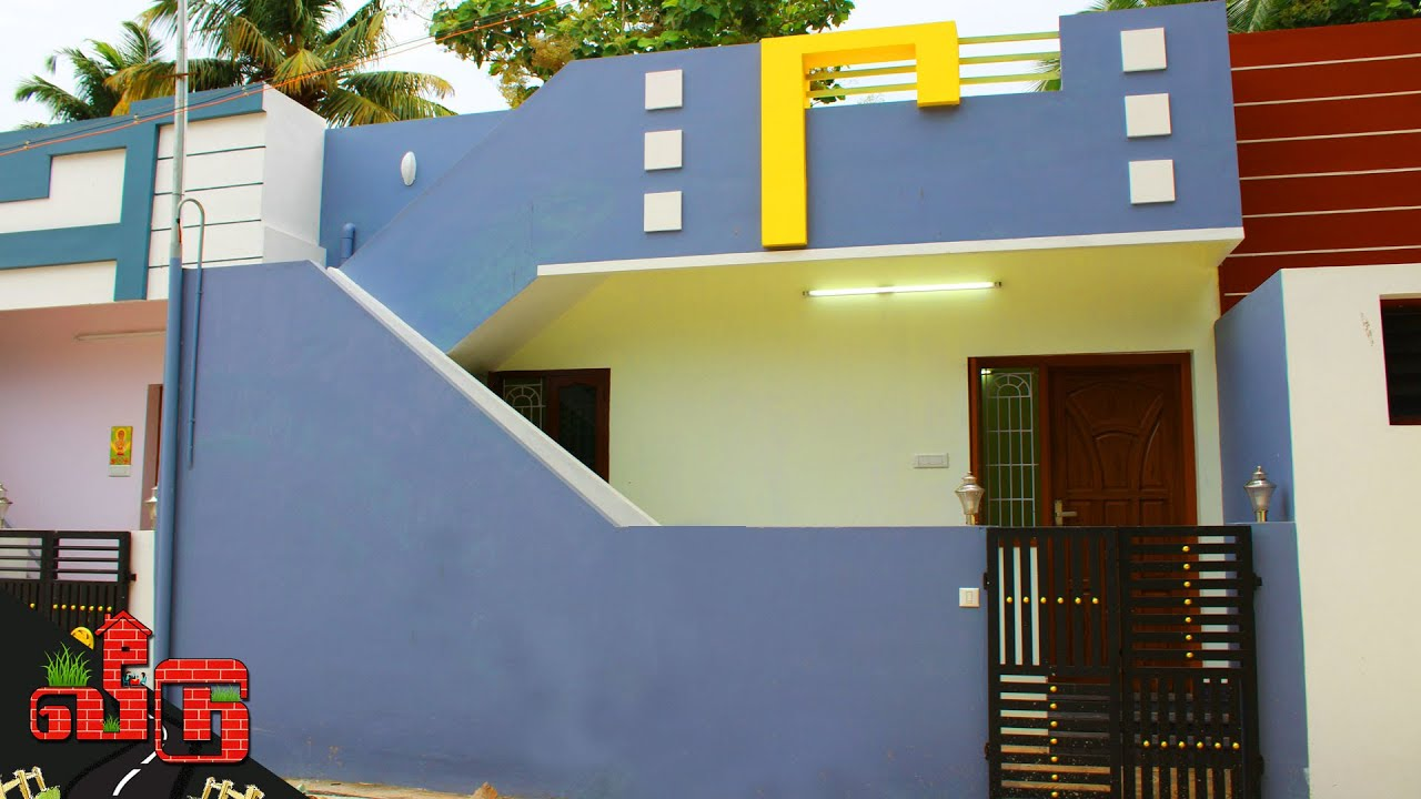 17 லட்சத்தில் 1BHK வீடு 2020 l Compact 1BHK House @ 17 Lakhs in 590sqft l House Tour | Veedu 72